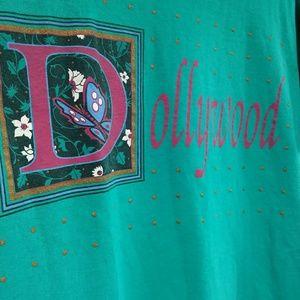 Vintage Dolly Parton Dollywood T Shirt